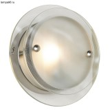 Светильник LUSSOLE LSA-2611-01 TREVISO nickel matt clear+white frosted 1*50W GU9