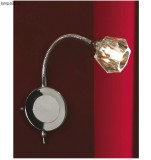 Светильник Lussole LSQ-2090-01 ATRIPALDA chrome clear crystal 1*40W G9