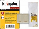 Коннектор Navigator 71 483 NLSC-8mm-PC-PC-IP20
